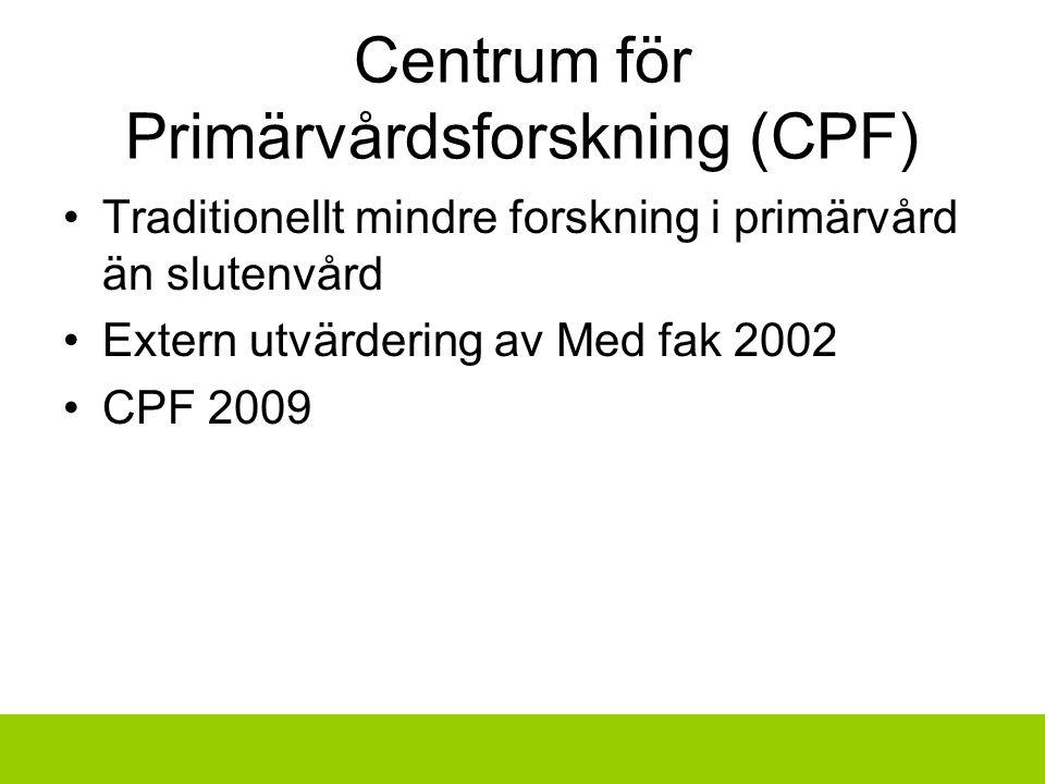 Centrum för Primärvårdsforskning (CPF)