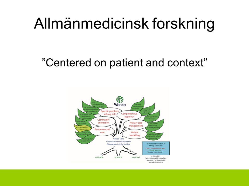Allmänmedicinsk forskning