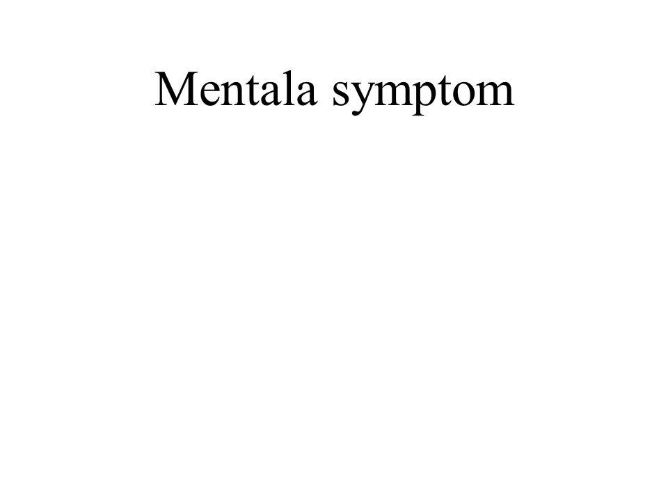 Mentala symptom