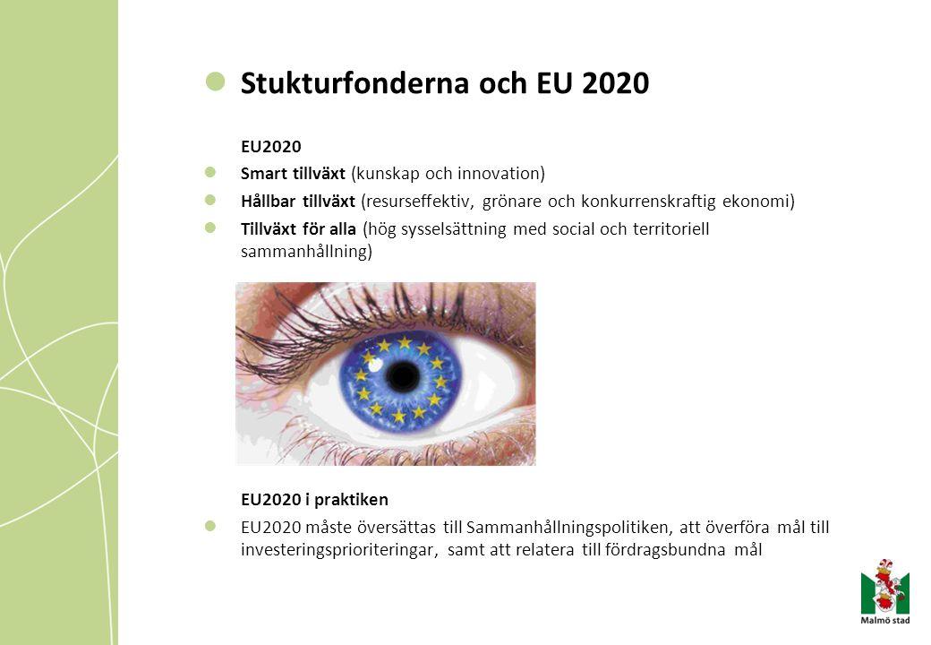 Stukturfonderna och EU 2020