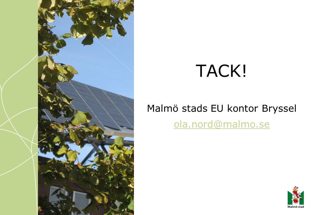 Malmö stads EU kontor Bryssel