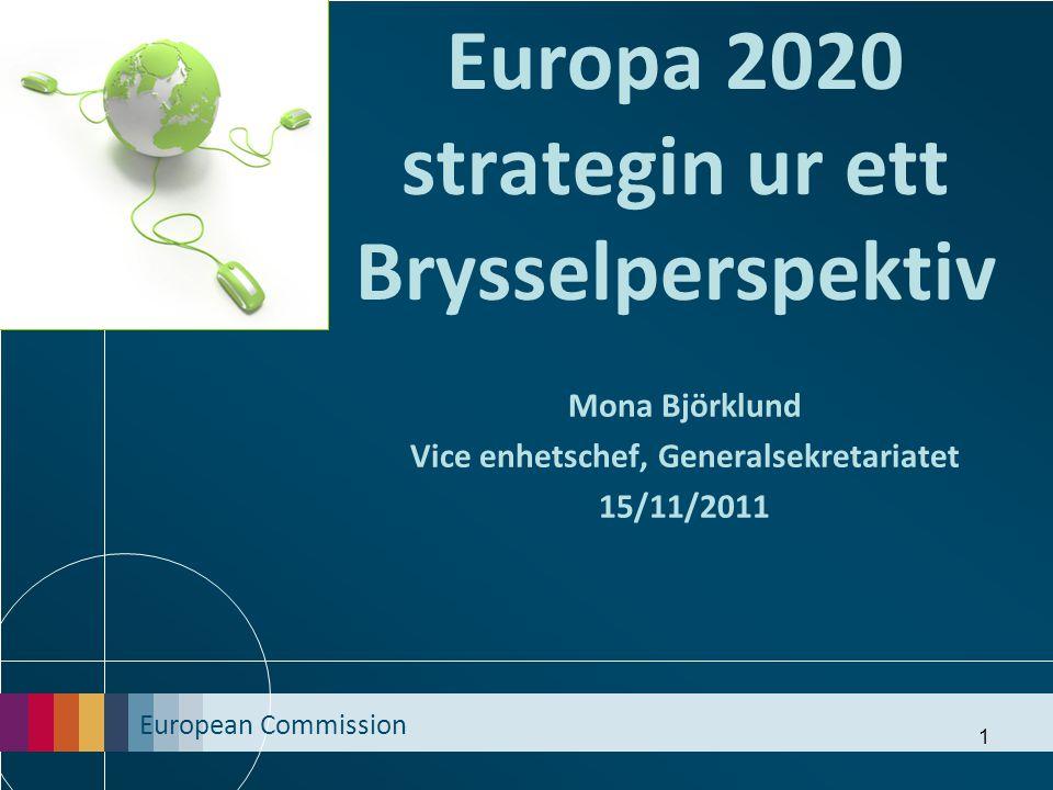 Europa 2020 strategin ur ett Brysselperspektiv