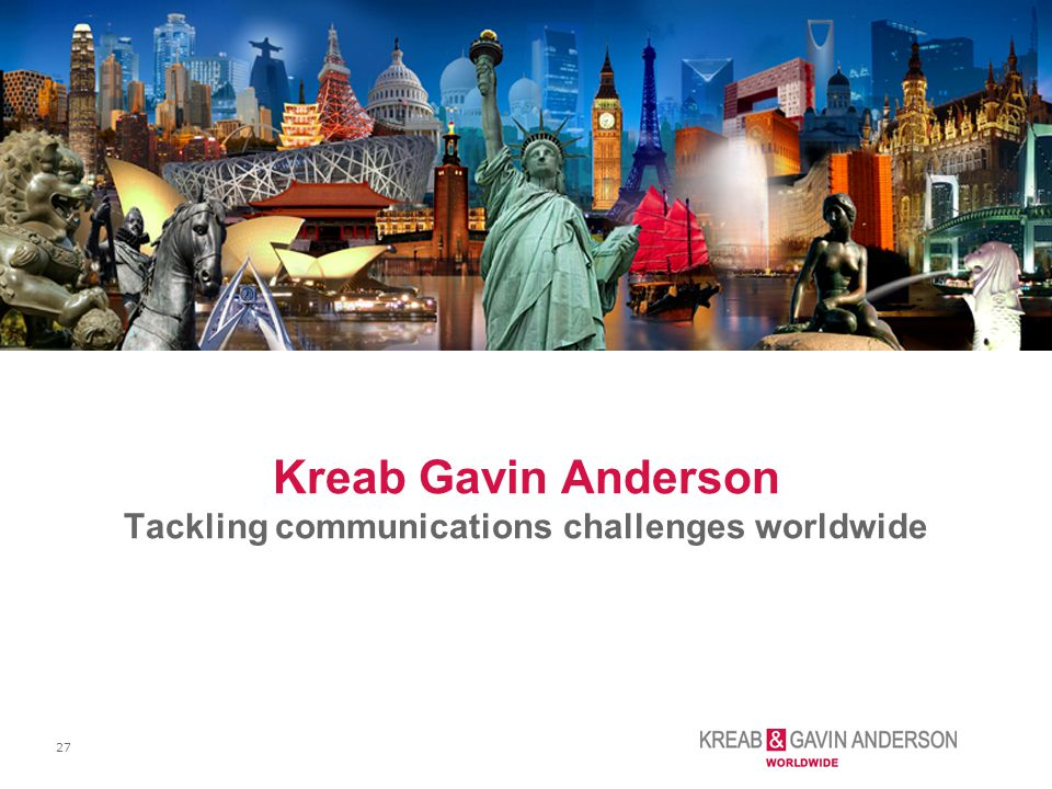 Kreab Gavin Anderson Tackling communications challenges worldwide