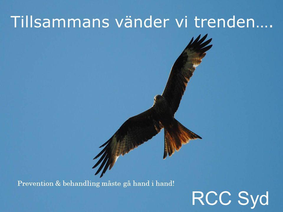 RCC Syd Tillsammans vänder vi trenden….