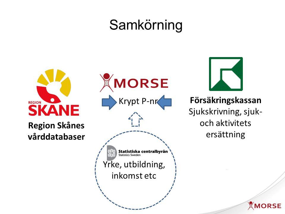 Region Skånes vårddatabaser