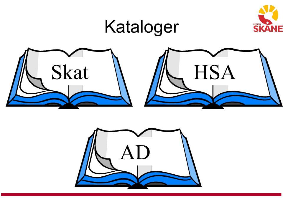 Kataloger Skat HSA AD