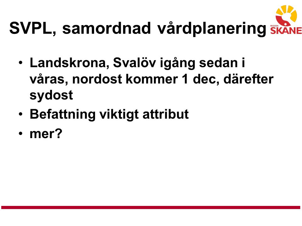 SVPL, samordnad vårdplanering