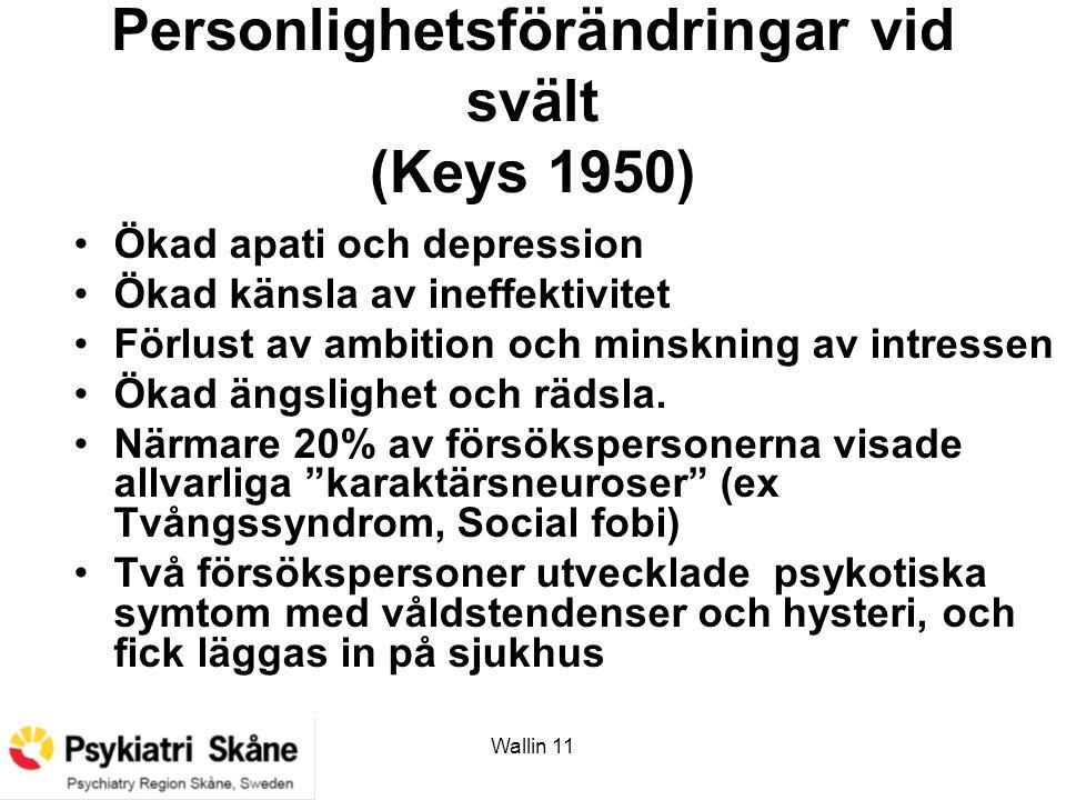 Personlighetsförändringar vid svält (Keys 1950)