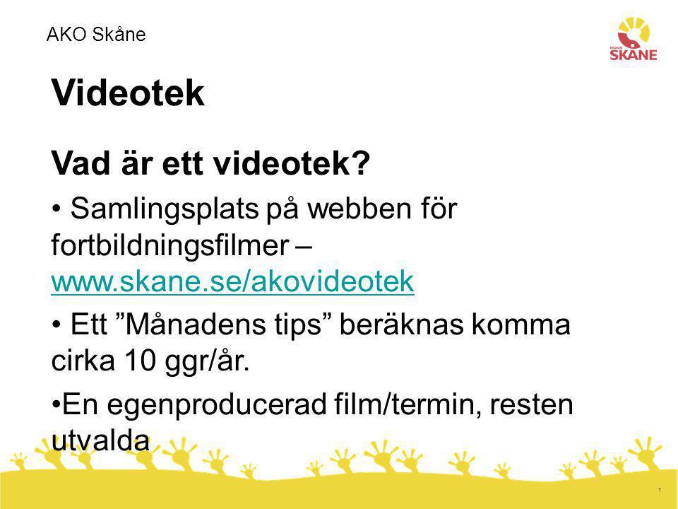 Videotek Vad är ett videotek