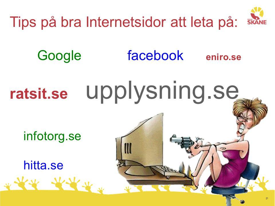 ratsit.se upplysning.se