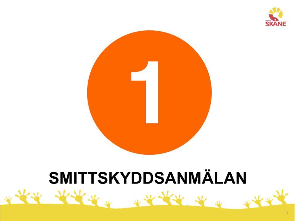 SMITTSKYDDSANMÄLAN