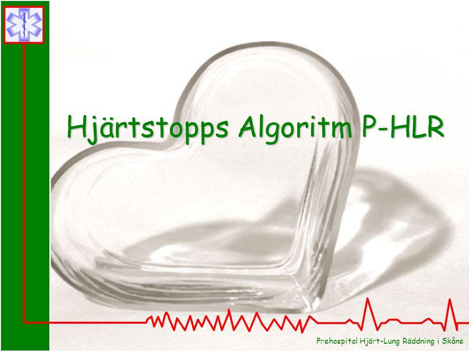 Hjärtstopps Algoritm P-HLR