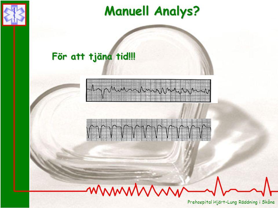 Manuell Analys För att tjäna tid!!!