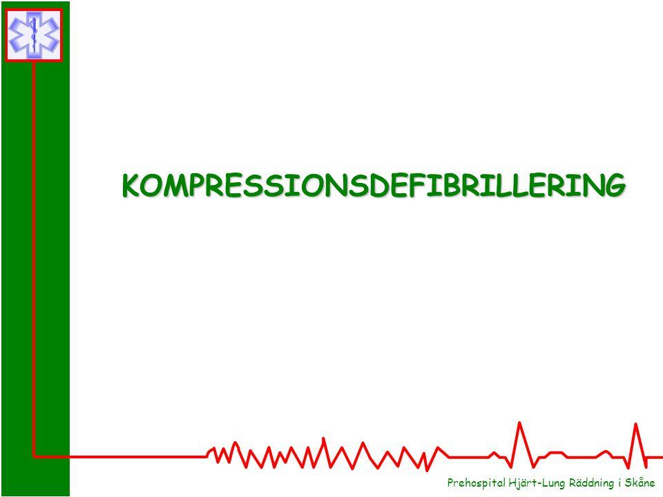 KOMPRESSIONSDEFIBRILLERING