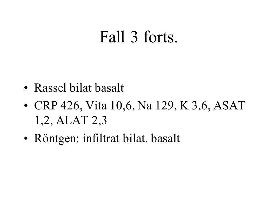 Fall 3 forts. Rassel bilat basalt