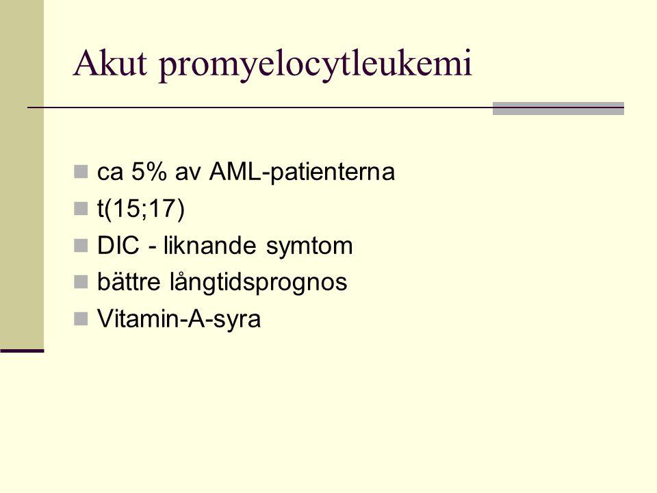 Akut promyelocytleukemi
