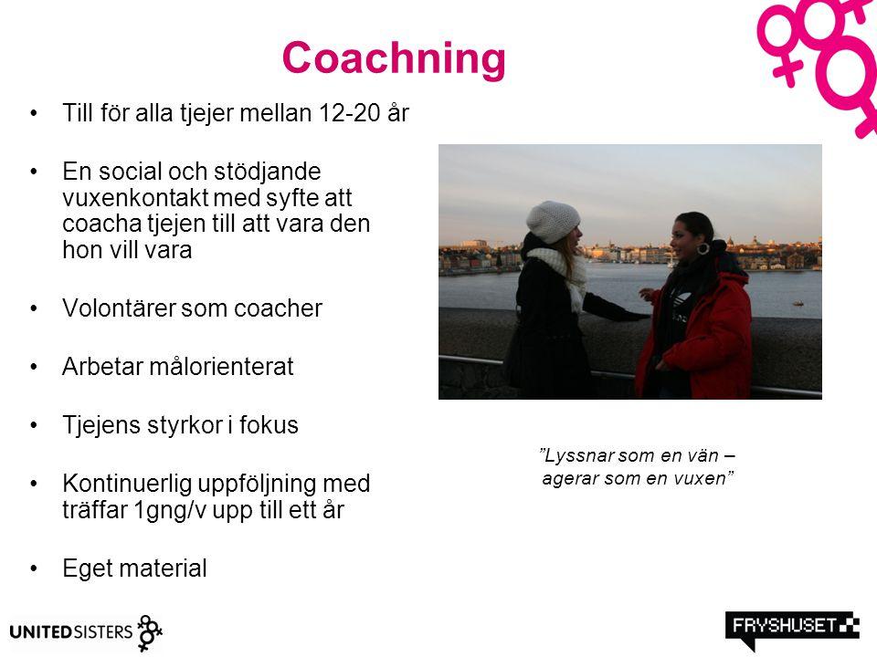 Coachning Till för alla tjejer mellan 12-20 år