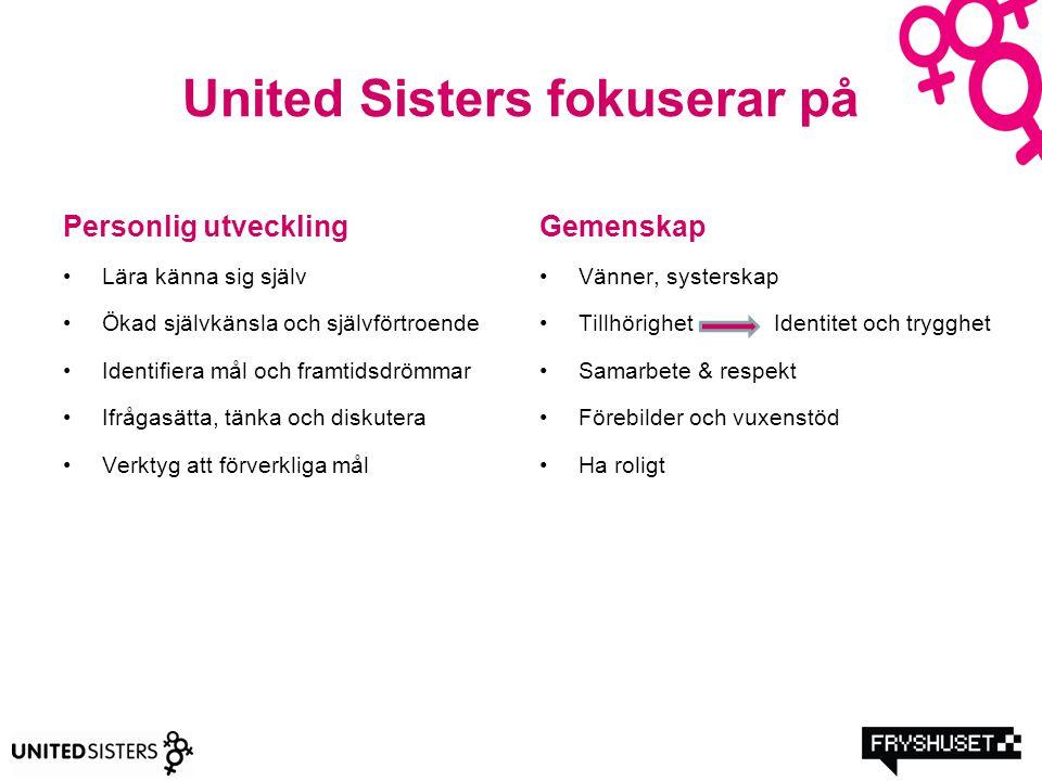 United Sisters fokuserar på