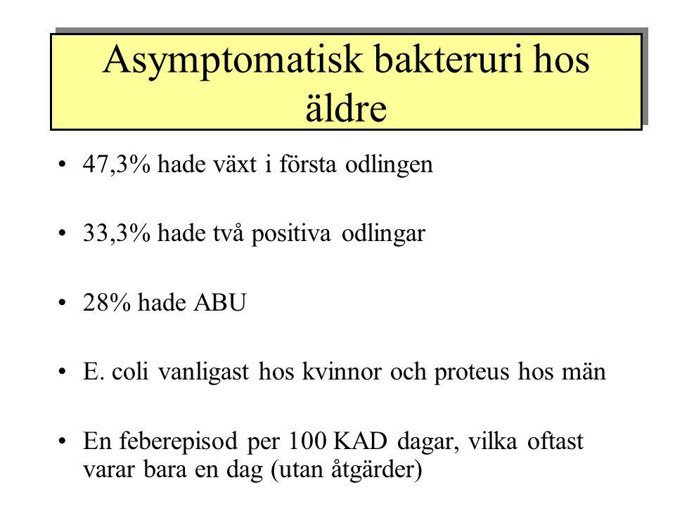 Asymptomatisk bakteruri hos äldre