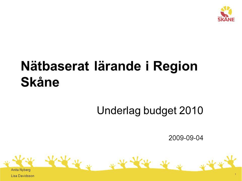 Nätbaserat lärande i Region Skåne