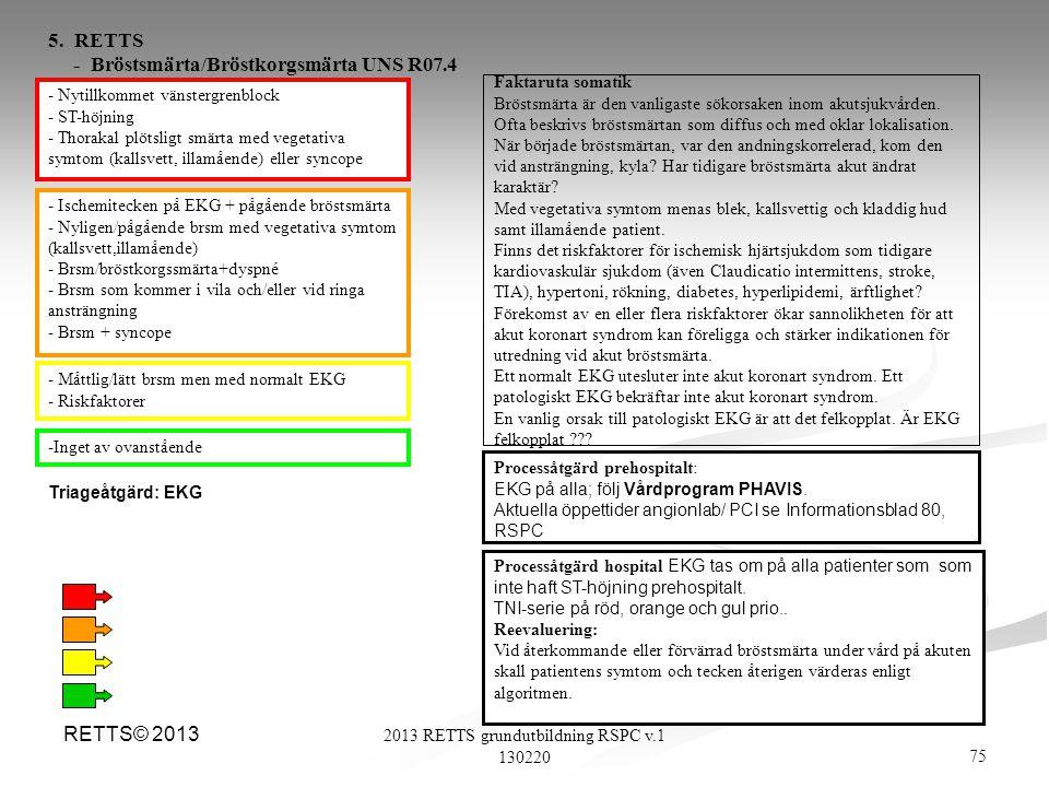 2013 RETTS grundutbildning RSPC v.1 130220