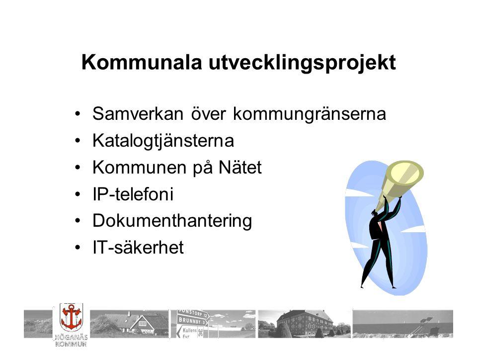 Kommunala utvecklingsprojekt