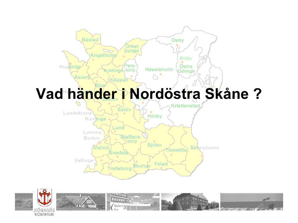 Vad händer i Nordöstra Skåne