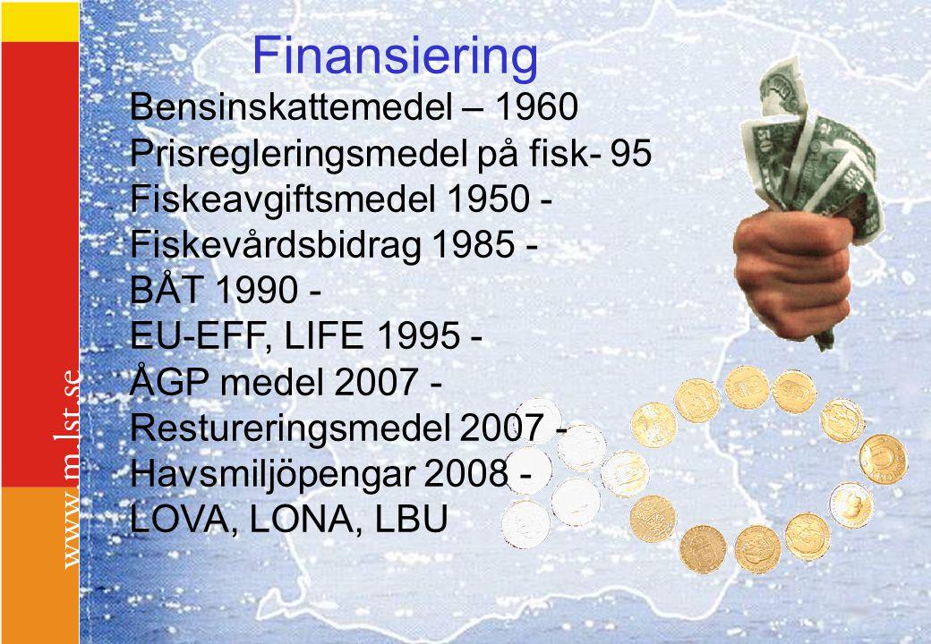 Finansiering Bensinskattemedel – 1960 Prisregleringsmedel på fisk- 95