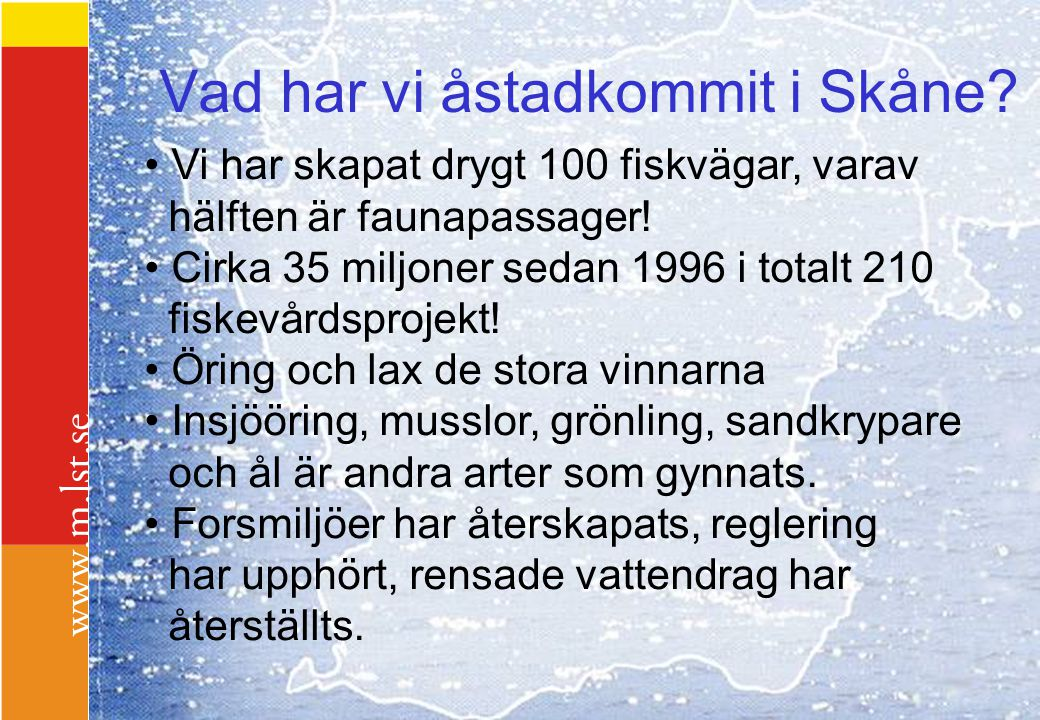 Vad har vi åstadkommit i Skåne
