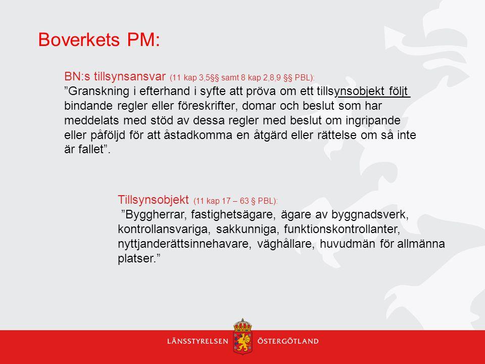 Boverkets PM: