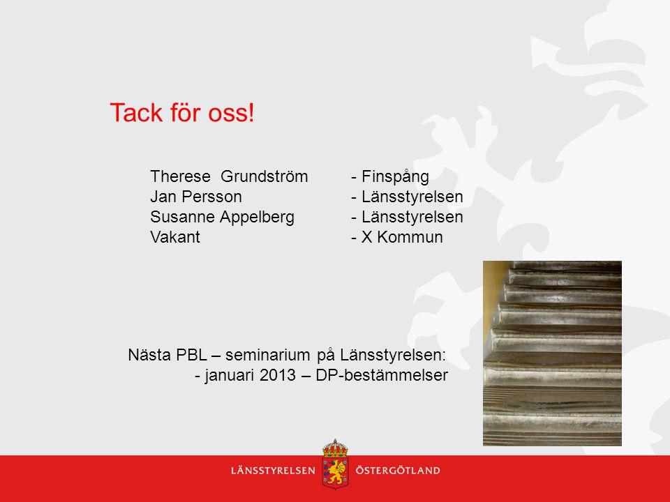 Tack för oss! Therese Grundström - Finspång
