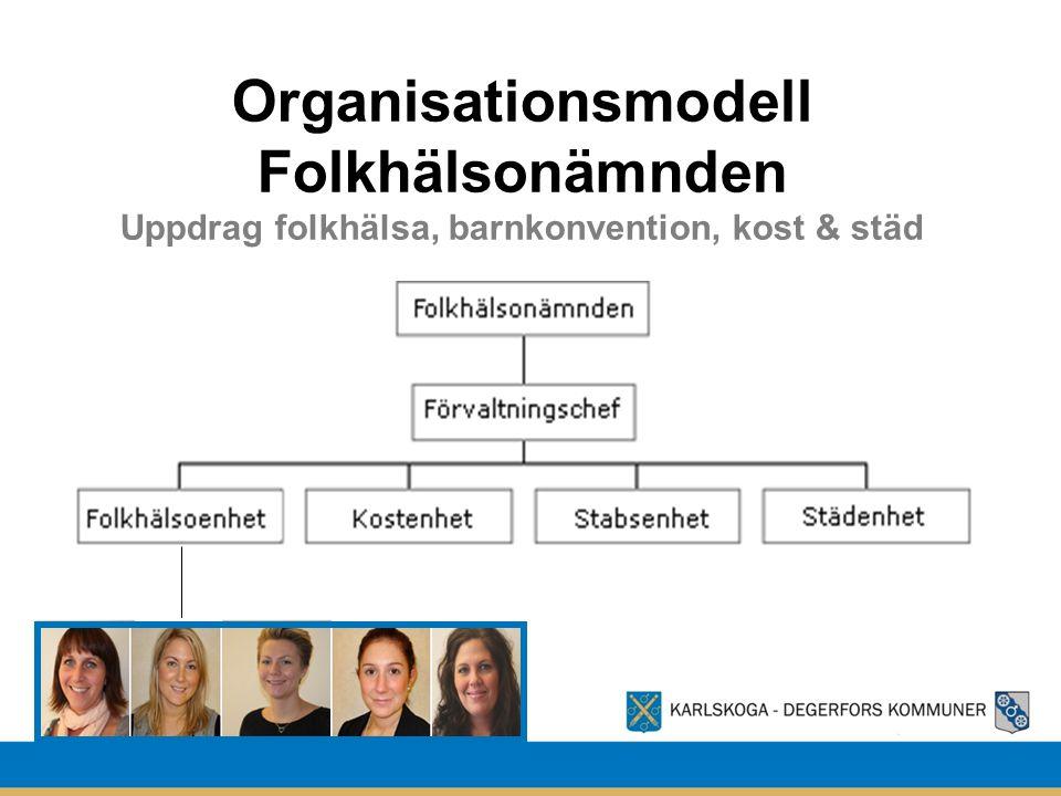 Organisationsmodell Folkhälsonämnden