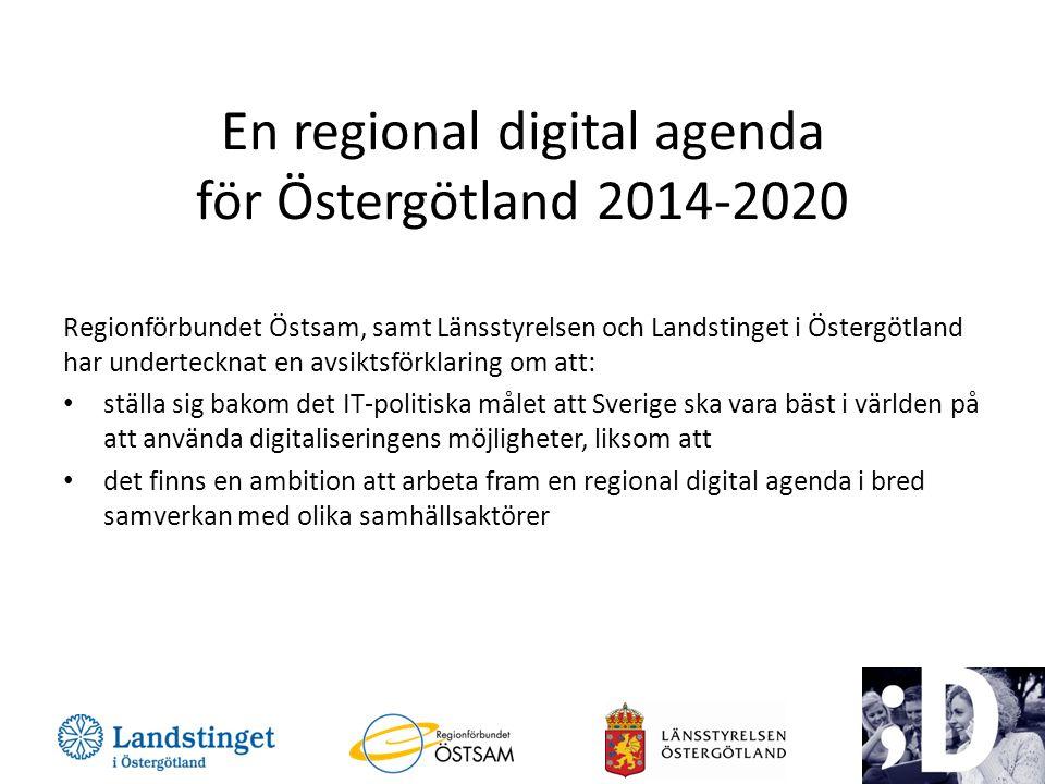 En regional digital agenda för Östergötland 2014-2020