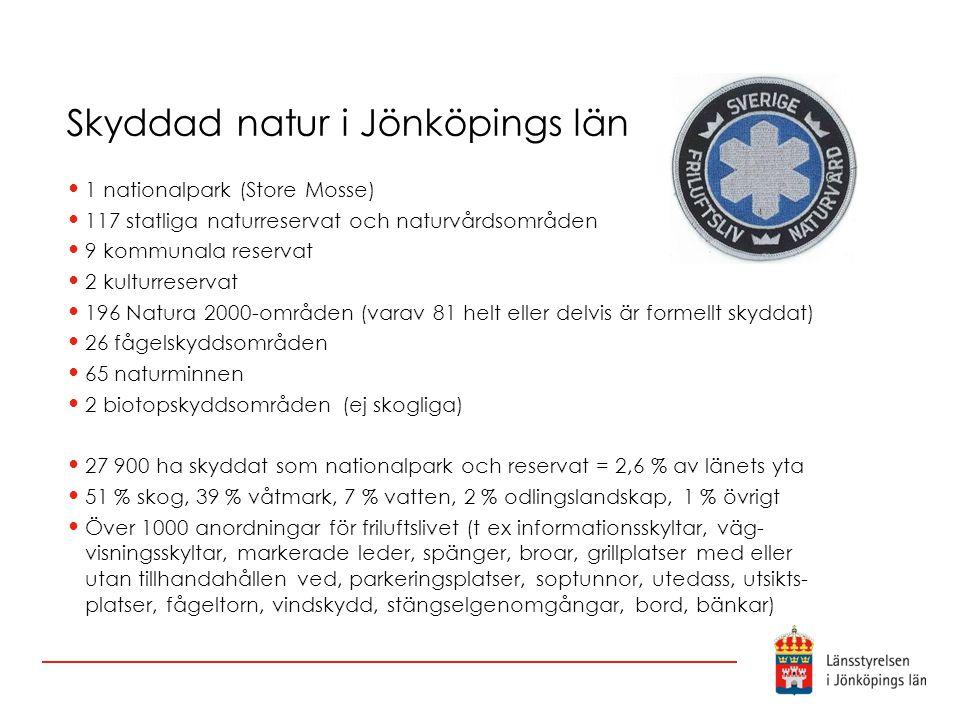 Skyddad natur i Jönköpings län