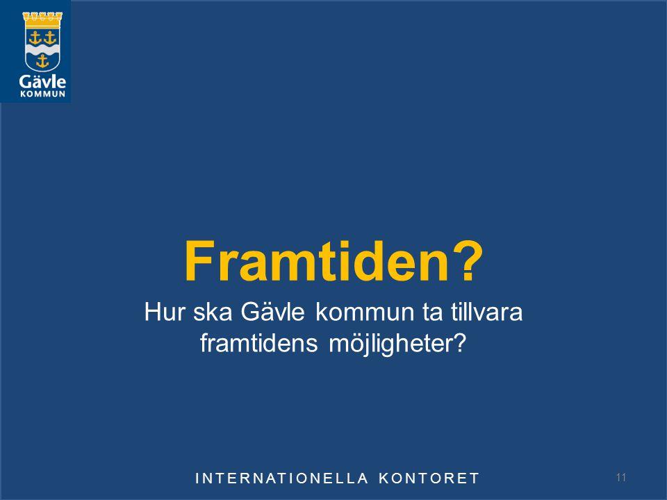 Hur ska Gävle kommun ta tillvara framtidens möjligheter