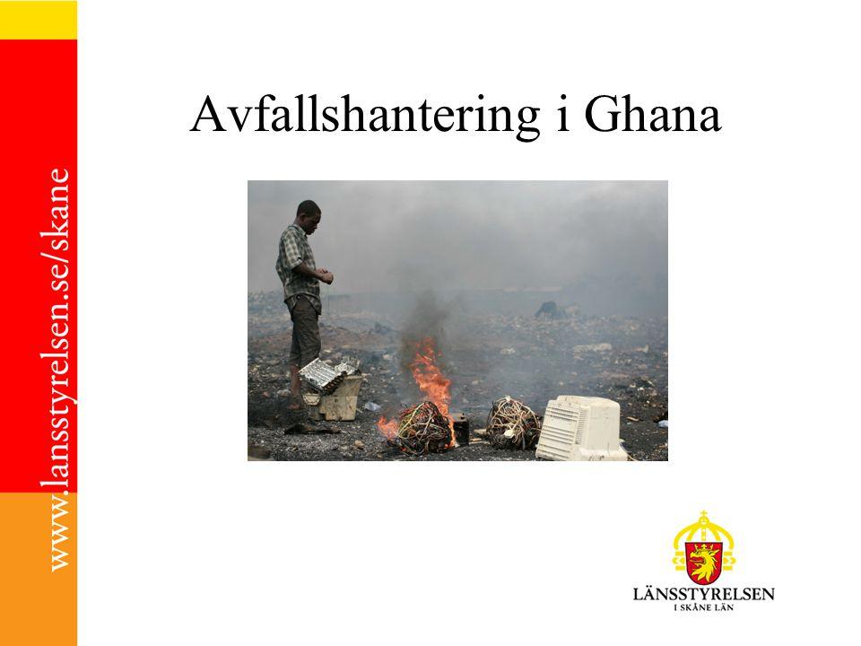 Avfallshantering i Ghana