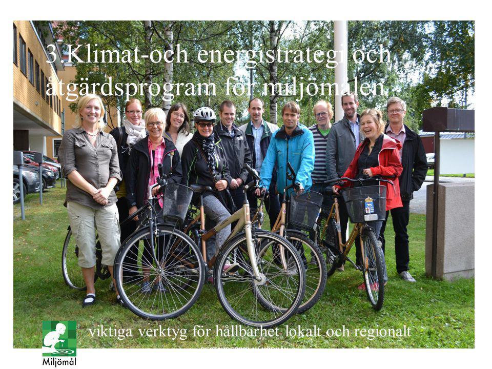3.Klimat-och energistrategi och åtgärdsprogram för miljömålen