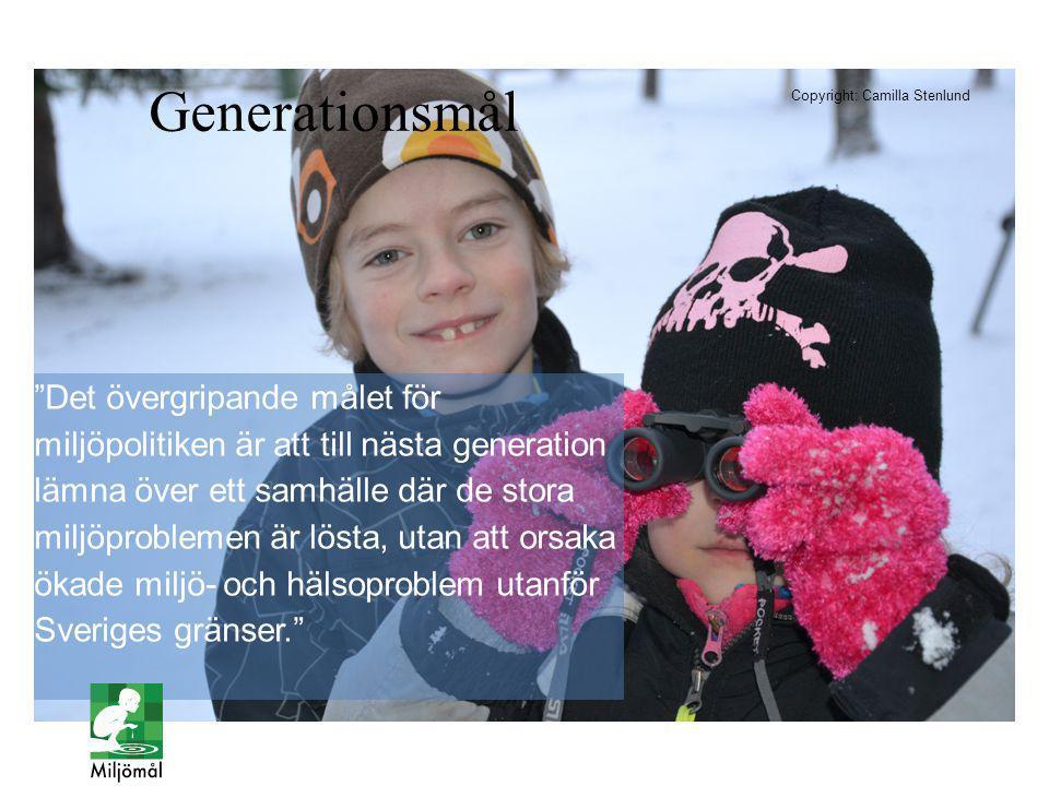 Generationsmål Copyright: Camilla Stenlund.
