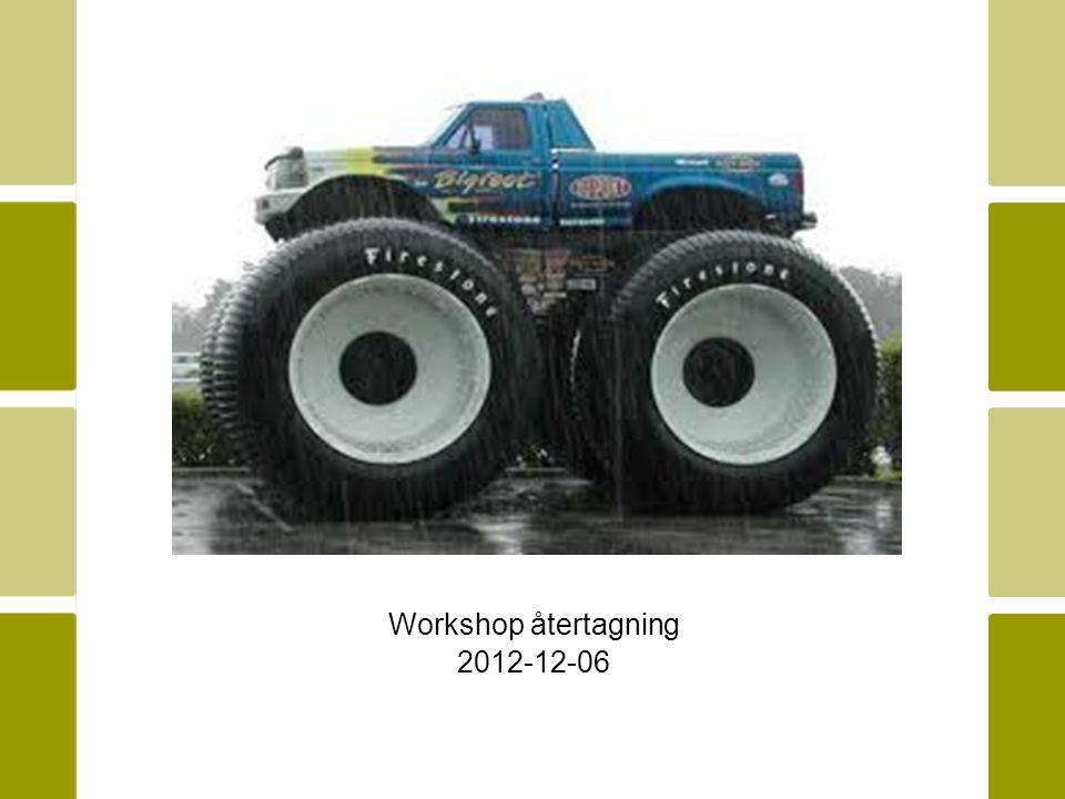 Workshop återtagning 2012-12-06