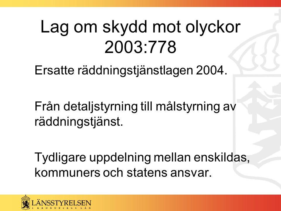Lag om skydd mot olyckor 2003:778