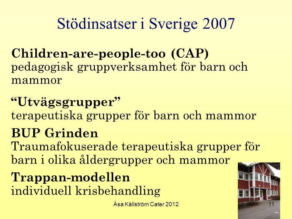 Stödinsatser i Sverige 2007