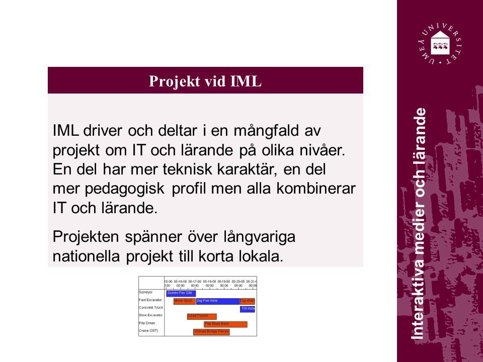Projekt vid IML