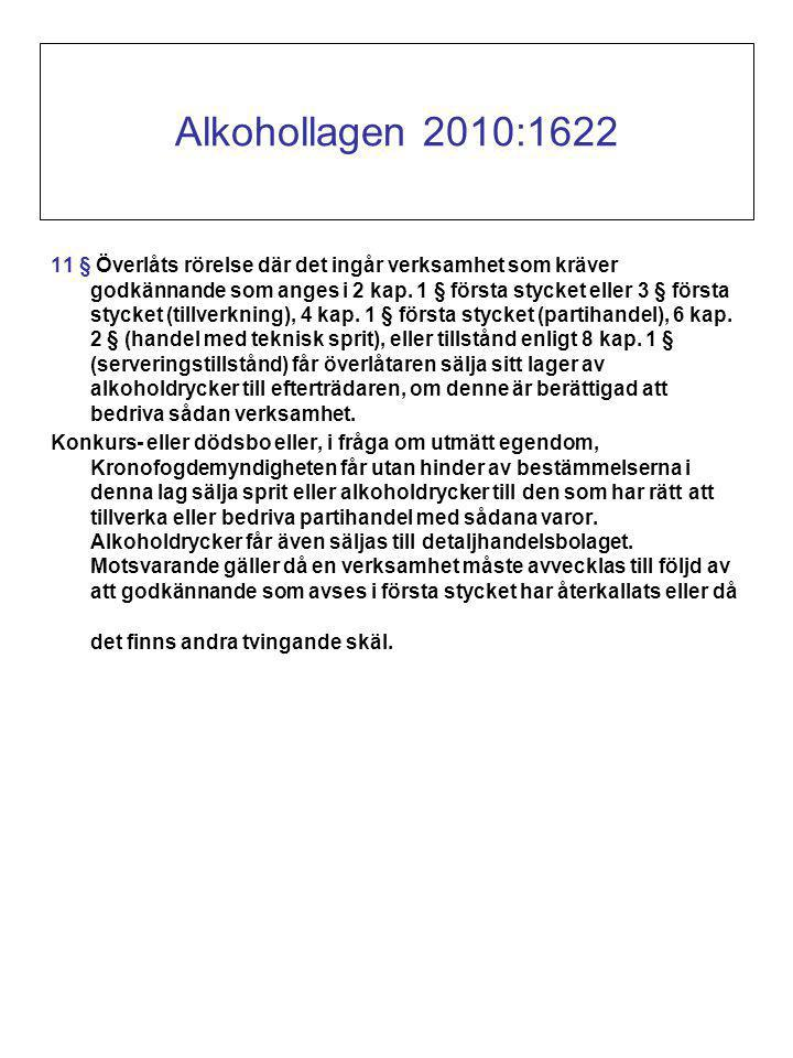 Alkohollagen 2010:1622