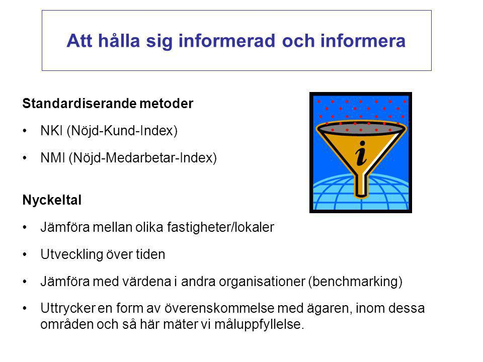 Att hålla sig informerad och informera
