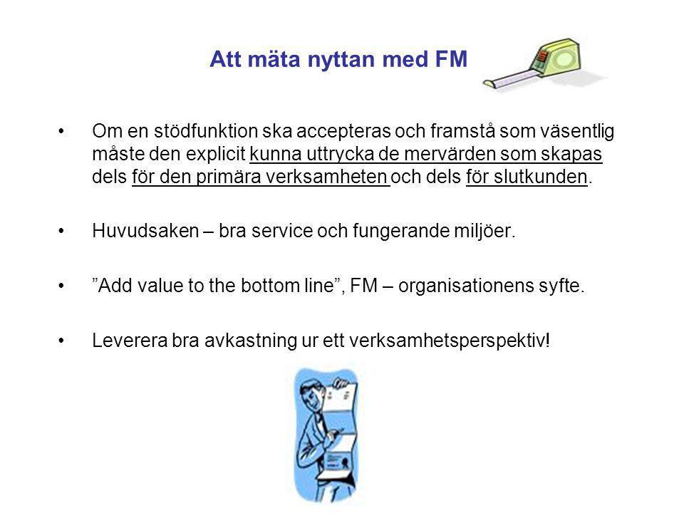 Att mäta nyttan med FM