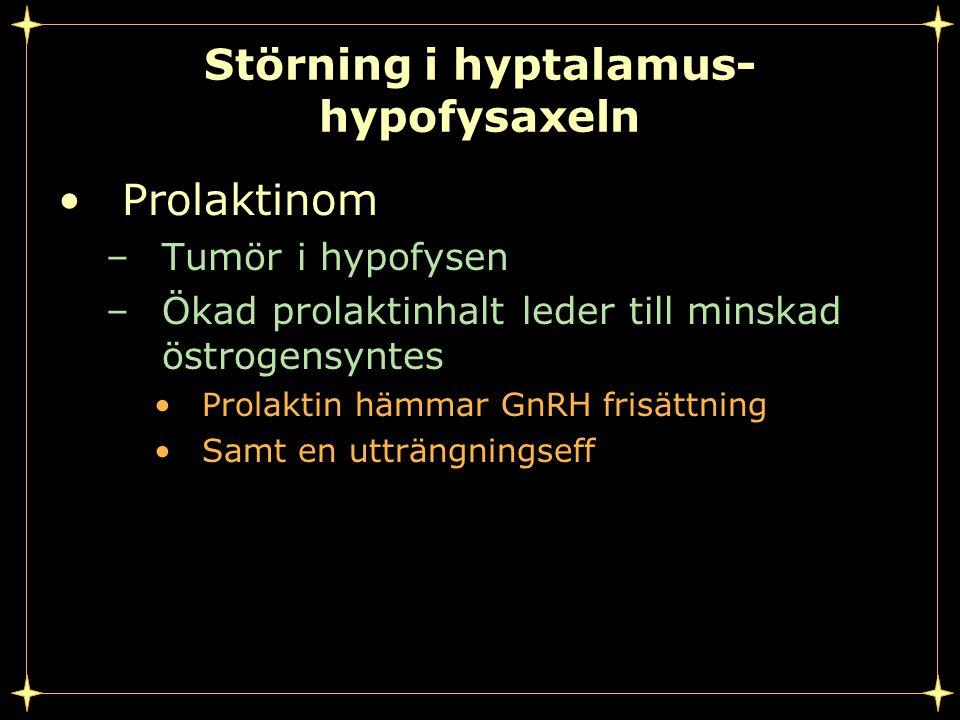 Störning i hyptalamus-hypofysaxeln