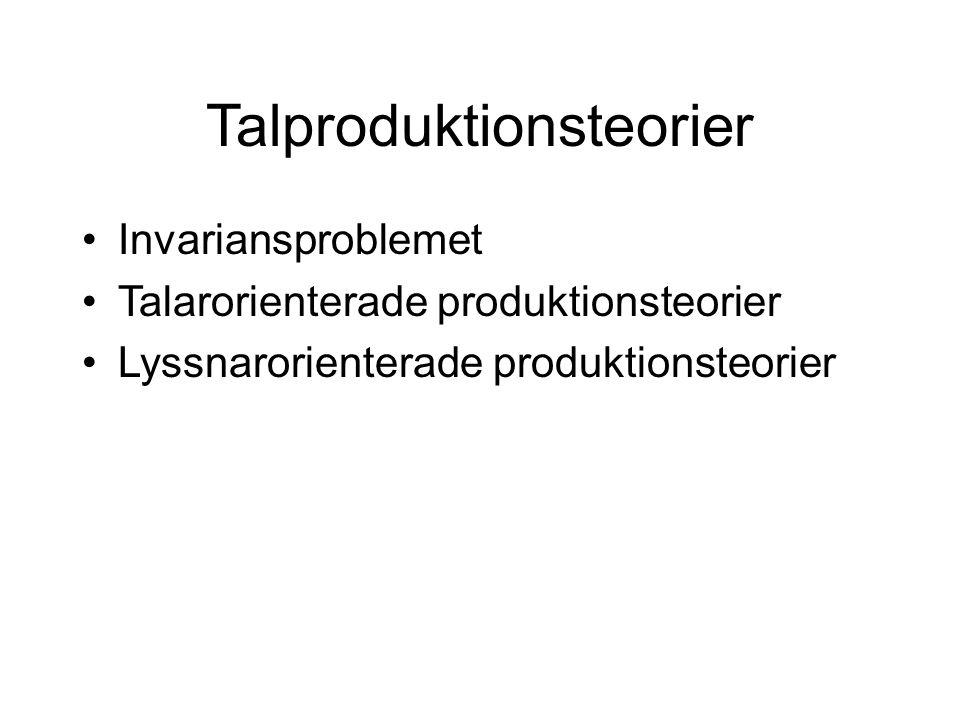 Talproduktionsteorier