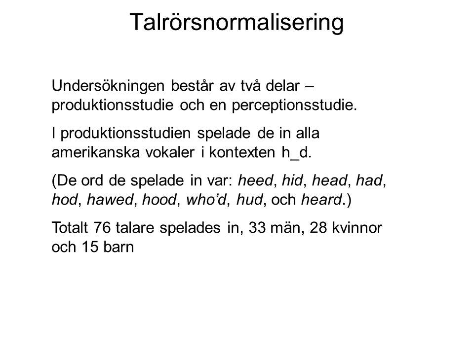 Talrörsnormalisering