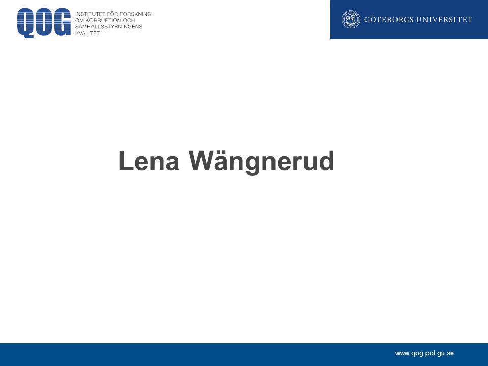 Lena Wängnerud