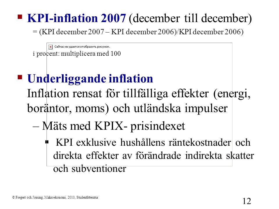 KPI-inflation 2007 (december till december)